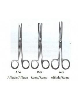 Tijeras de cirugía rectas 14cm