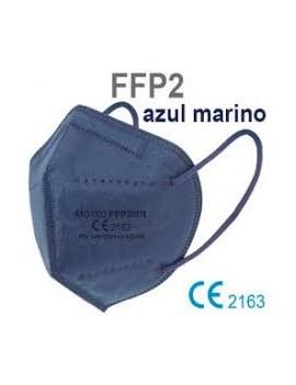 mascarilla  ffp2 azul...