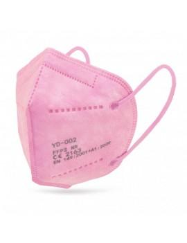 Mascara protectora rosa ,...