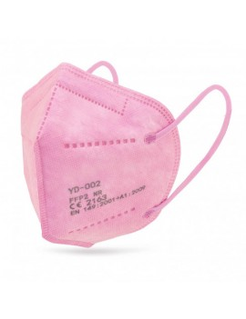 mascarilla  ffp2 rosa ,...