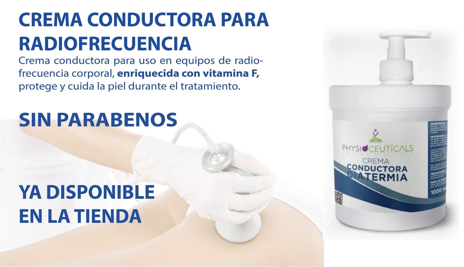 Crema conductora Diatermia